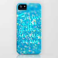 Glitter in my Veins (Photo of Glitter) iPhone Case by Beth - Paper Angels Photography | Society6