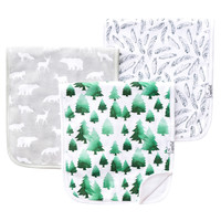 Premium Burp Cloths - Woodland