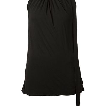 Rick Owens Lilies pleated neck top