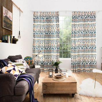 Drapes with Native Tapestry