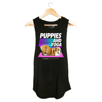 Puppies & Yoga | Women's Sleeveless