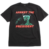 Arrest The President T-Shirt Black