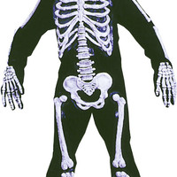 boy's costume: skelebones | large