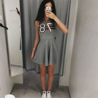 Women's Trending Popular Fashion 2016 Summer Beach Holiday Floral Printed Sexy Sleeveless Erotic Casual Party Playsuit Clubwear Bodycon Boho Dress _ 8748