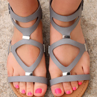 Path of the Warrior Sandal - Grey