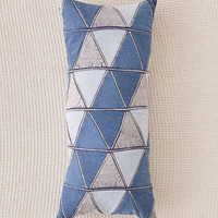 Patched Denim Body Pillow | Urban Outfitters