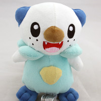 "New Pokemon Oshawott Mijumaru Soft Plush Toys Stuffed Animal 6"" NWT"