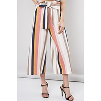 Stripe Belted Pant (Back In Stock)