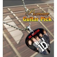 Printed Picks Company 5055287682666 One Direction Premium Guitar Pick Necklace