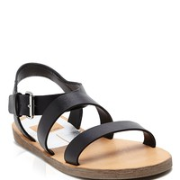Dolce Vita Open Toe Flat Sandals - Veya