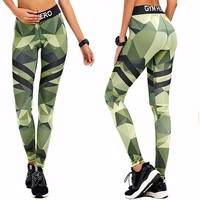 ACTIVEWEAR DIGITAL CAMO LEGGINGS