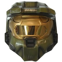 Halo 3 Master Chief 2 piece Vacuform Mask Adult