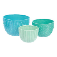 Ocean Textures Nested Bowl Set