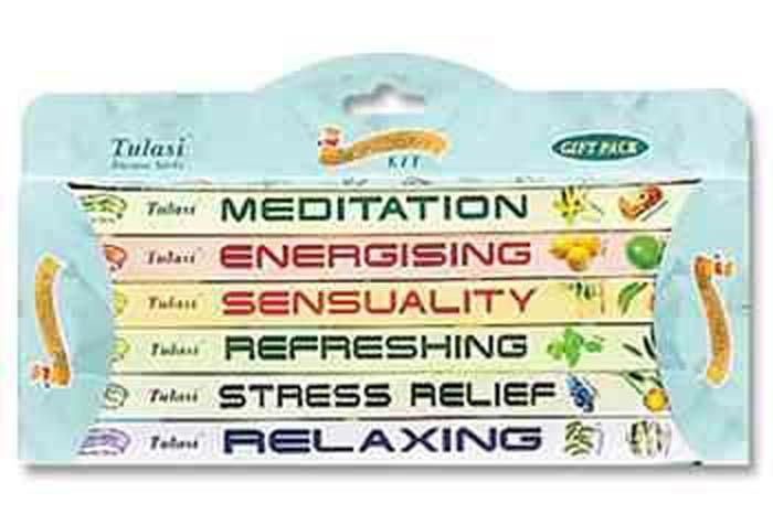 Image of 6-in-1 Aromatherapy Kit 8 Sticks Square Pack (6 per box) - Sold as a Set of 2