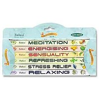 6-in-1 Aromatherapy Kit 8 Sticks Square Pack (6 per box) - Sold as a Set of 2