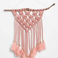Naativ Studios x UO Woven Wall Hanging- Rose One