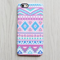 Tribal Pink Blue iPhone XR case iPhone XS Max plus Case Ethnic  SE  Case Ethnic Galaxy S8 S6  Note 3 Case 072
