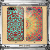 Mandala, iPhone 5s case iPhone 5C Case iPhone 5 case iPhone 4 Case iPhone Samsung Galaxy S4 case Galaxy S3 ifg-10