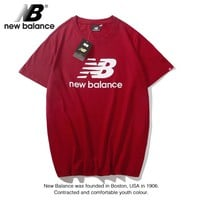 Cheap Women's and men's New Balance t shirt for sale