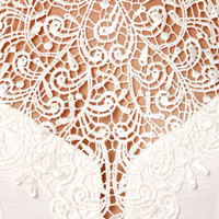 Renaissance Court Lace Ivory Dress