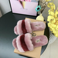 """UGG"" Womens Fluff Yeah Slides Slipper"