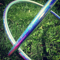 """Set of 2 Fully Taped 5/8"""" Polypro Mini Hoops"""