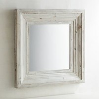 "Bailey Farmhouse 31"" Square Mirror"