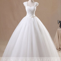 Viv/women clothing/wedding gown/bridal dress/custom made/lace/ALL SIZE13051
