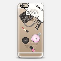 CHANEL SHOPPING (Transparent / Chance Chanel) iPhone 6s case by Ylfa Grönvold Illustrations   Casetify