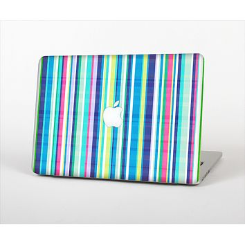 """The Colorful Highlighted Vertical Stripes  Skin Set for the Apple MacBook Pro 15"""""""