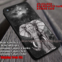 Elephant Ornate on Grey Nebula iPhone 6s 6 6s+ 6plus Cases Samsung Galaxy s5 s6 Edge+ NOTE 5 4 3 #art ii