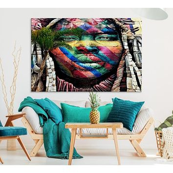 Large Wall Art Canvas Print