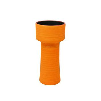 Appealing Orange Decorative Ceramic Vase - SageBrook Home