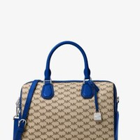 Mercer Medium Heritage Logo Duffel | Michael Kors