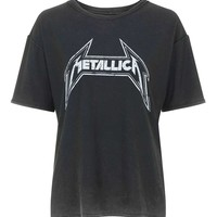 Metallica Tee by And Finally | Topshop