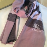 BURBERRY BRAND NEW SCARF FOR WOMEN CASHMERE 100% AUTHENTIC
