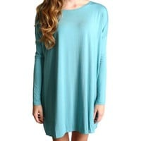 Paloma Piko Tunic Long Sleeve Dress