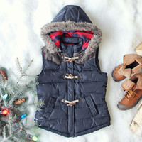 Chalet Cozy Vest in Navy