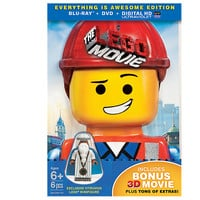 THE LEGO® MOVIE™: Everything Is Awesome Edition (3D Blu-ray + Blu-ray + DVD + UltraViolet Combo Pack)