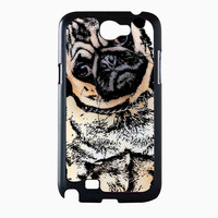 pugs alot dog 96987273-2741-4c8a-9932-e207609df6ff FOR Samsung Galaxy Note 2 Case *NS*