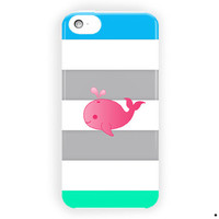 Cute Animal Cute Pink Baby Design For iPhone 5 / 5S / 5C Case