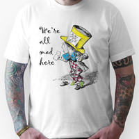 Mad Hatter Tea Party T-Shirt Unisex T-Shirt