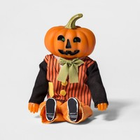 Halloween Silly Screamer Animated Mr. Pumpkin - Hyde and Eek! Boutique™