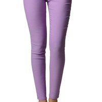 Lavender Colored Tight Jeggings