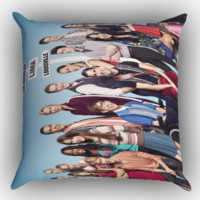 Glee Movie X0637 Zippered Pillows  Covers 16x16, 18x18, 20x20 Inches