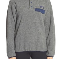 Women's Patagonia 'Synchilla' Snap Tee