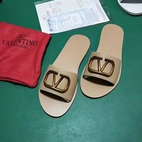 Valentino Flat-soled slippers