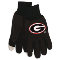 Georgia Bulldogs NCAA Technology Gloves (Pair)