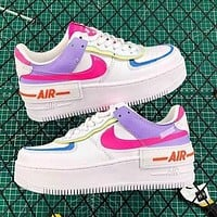 Samplefine2 Nike Air Force 1 AF1 New Fashion Women Leisure Running Sport Shoes Sneakers