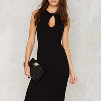 Nasty Gal Crew Become One Midi Dress
